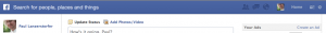 Facebook Graph Search Interface
